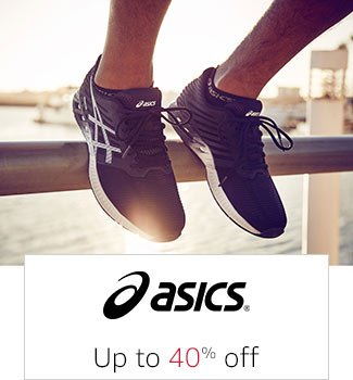 Asics: Up to 40% off