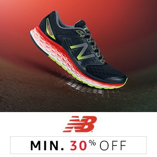 New Balance: Minimum 30% off
