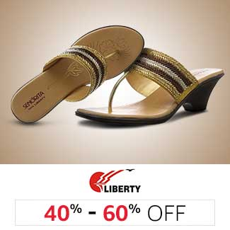 Liberty: 40% to 60% off