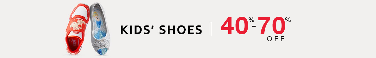 Kids' shoes : 40% to 70% off