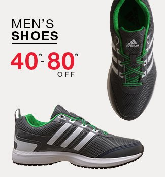 Men's shoes : 40% to 80% off