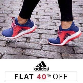 Adidas: Flat 40% off