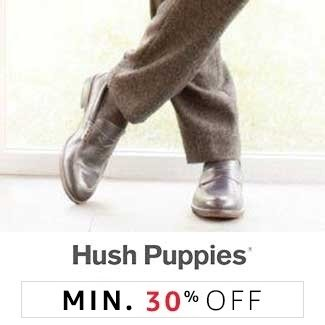 Hush Puppies: Min 30% off