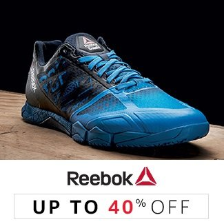 Reebok: Up to 40% off