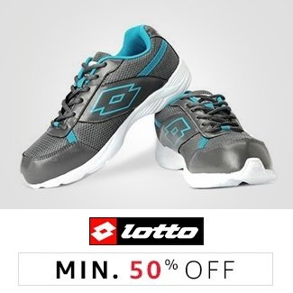 Lotto: Min 50% off