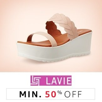 Lavie: Min 50% off