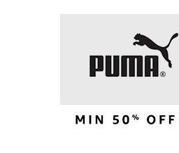 Puma: Min 50% off