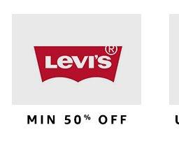 Levi's: Min 50% off