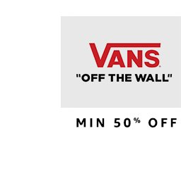 Vans: Up to 50% off
