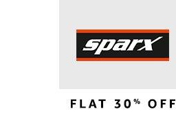 Sparx : Flat 30% off