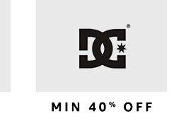 DC : Min. 40% off