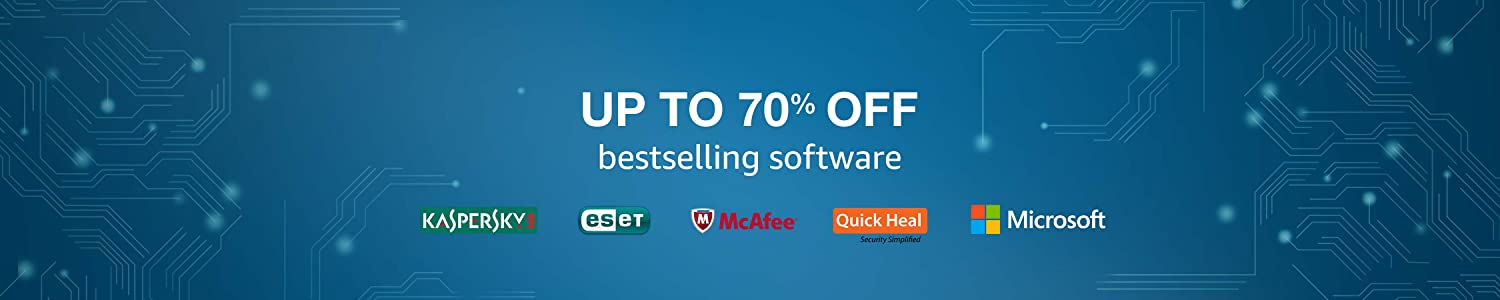 Up to 70% off bestselling software