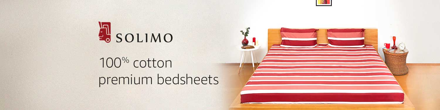 Solimo premium cotton bedsheets  Home Furnishing Deals. Home Furnishing  Buy Home Furnishing Online at Best Prices in