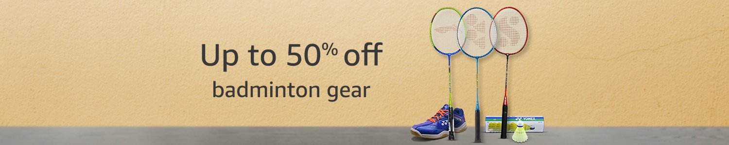 Up to 50% off Badminton