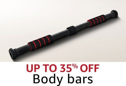 Up to 35% off  Body bars