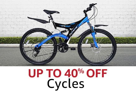 Up to 40% off cycles