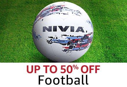 Upto 50% off Football