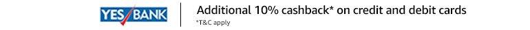 Yes Bank | Additional 10% cashback