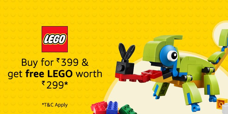 Lego Chameleon offer