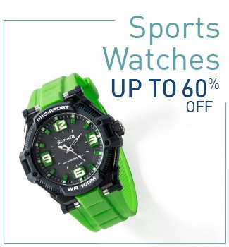 Sports Watches : Upto 60% Off
