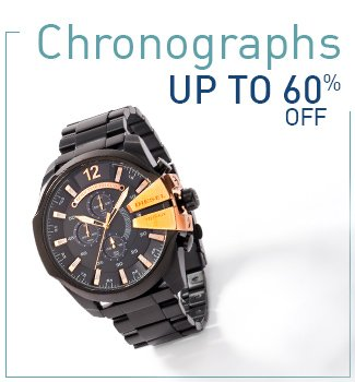 Chronographs : Upto 60% Off.