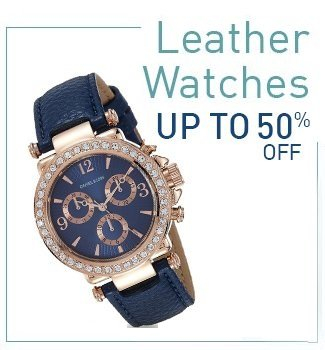 Leather Watches : Upto 50% Off