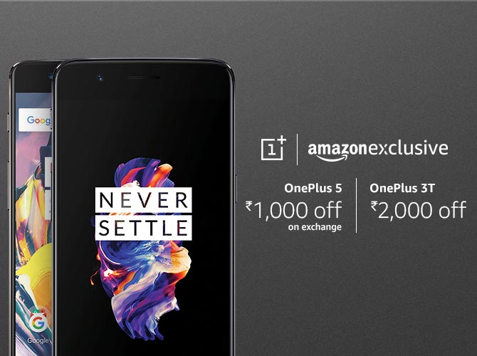 OnePlus 5 and OnePlus 3T