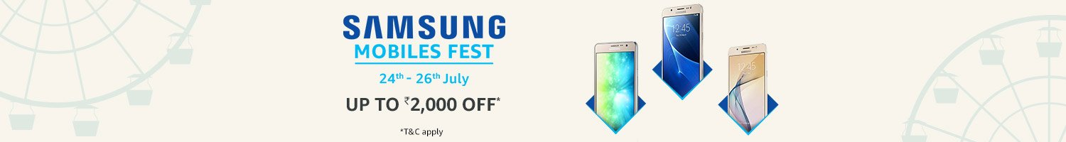Get Upto Rs 2000 Off On Samsung Mobiles Fest From Amazon
