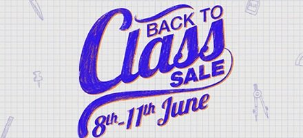 Back to Class Sale 8th - 11th June by Amazon.in