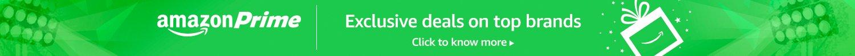 Amazon Prime | Exclusive deals on top brands