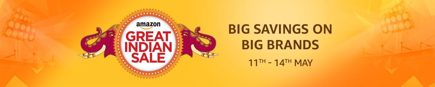 amazon great indian sale 2017 11 TO 14 MAY 2017