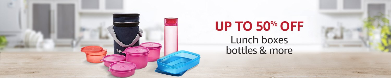 Up to 50% off containers