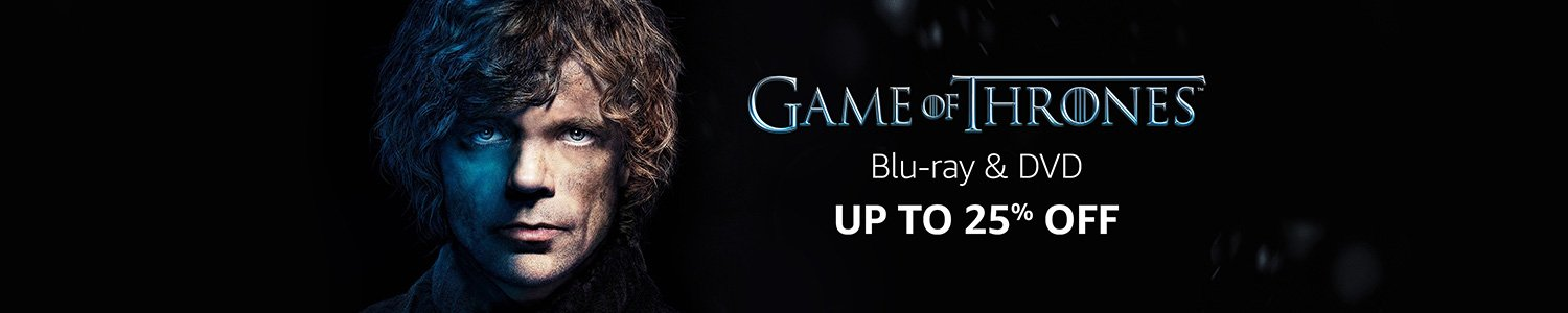 Game of thrones DVD offer