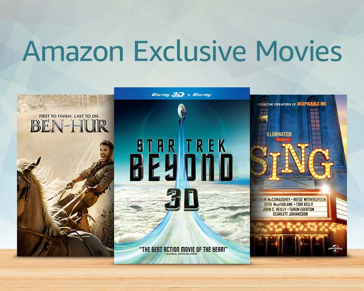 Amazon exclusive movies