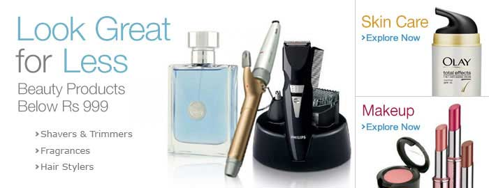 Beauty products for Rs.999 and less