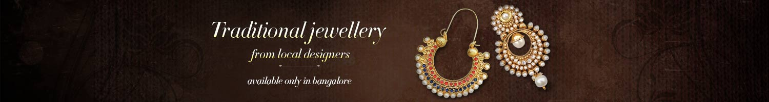 Traditional jewellery from local designers