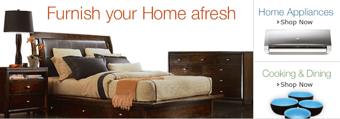 Furnish your home afresh