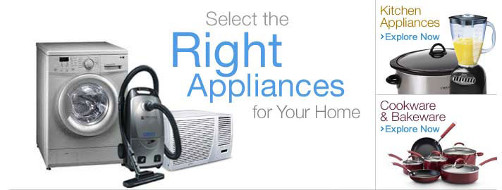Select the right appliances for your home