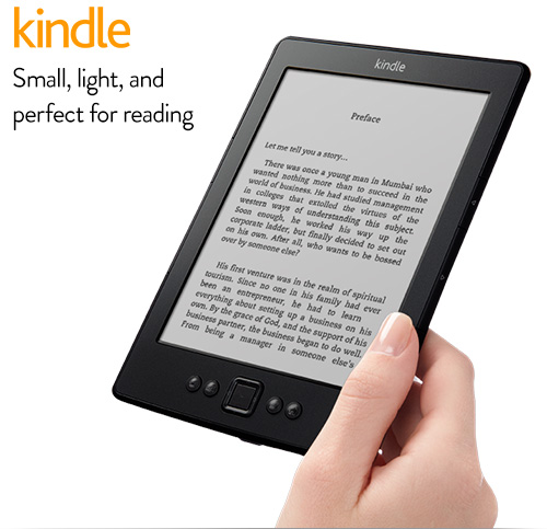 Save Rs 1000 on Kindle from Amazon India this Summer at Rs 4999