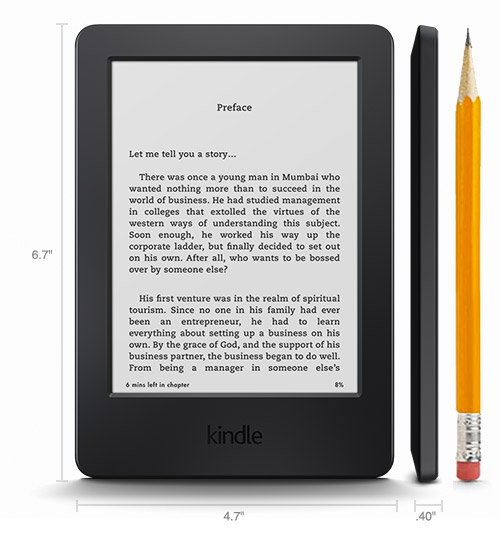 How much cheaper are books bought online for the Kindle device?