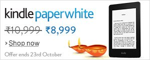 Kindle Paperwhite, Save Rs. 2,000.