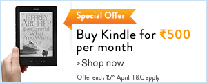 Buy Kindle for Rs.500 per month.