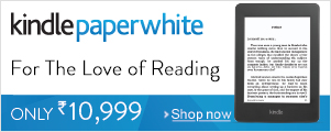 Kindle Paperwhite, For The Love of Reading.