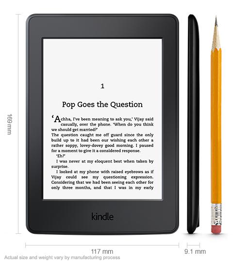 Paperwhite Wi-Fi plus 3G (Black)