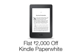 Rs.2,000 Discount on All-New Kindle Paperwhite