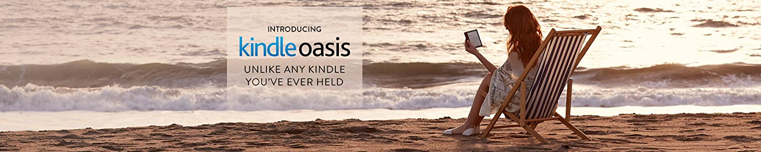 Introducing Kindle Oasis
