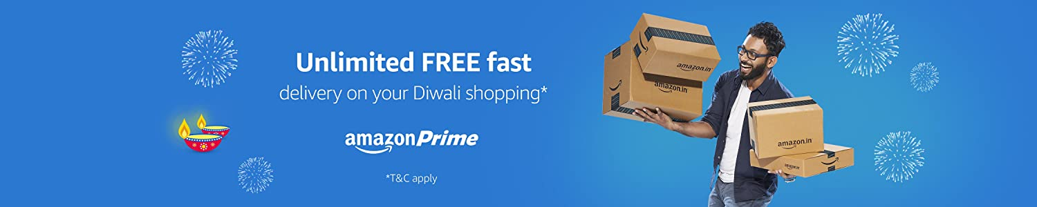 Unlimited Free Fast Delivery Diwali Shopping – Amazon Prime Super Deals
