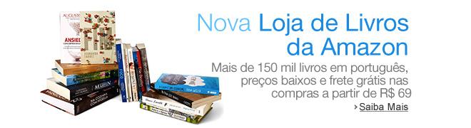 Nova Loja de Livros Amazon