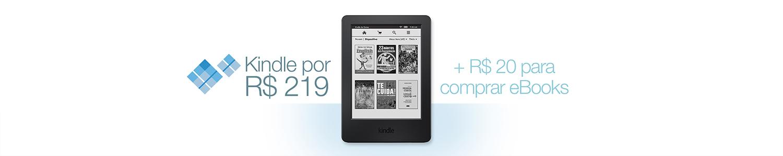 Kindle por R$ 219