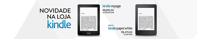 Novo Kindle Paperwhite e Kindle Voyage